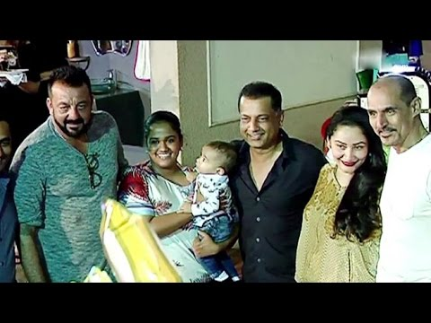 Sanjay Dutt's Kids Iqra & Shahraan's Grand BIRTHDAY PARTY Full Video