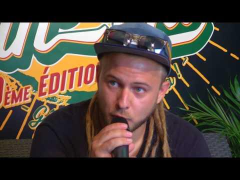 Conférence de presse de VOLODIA - Reggae Sun Ska 2017