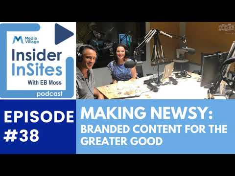 Thumbnail for video of article: Making Newsy:  Branded Content for the Greater Good
