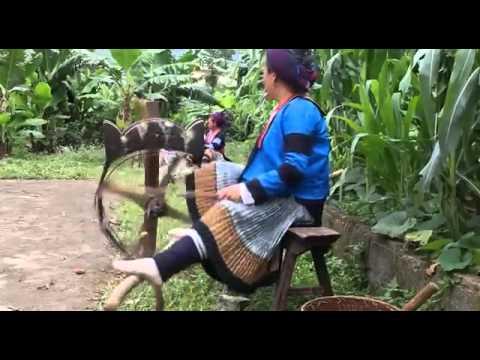 Hemp textile of Hmong in Vietnam