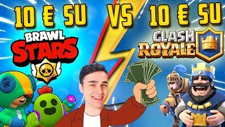 10€ su BRAWL STARS vs 10€ su CLASH ROYALE! Dove conviene? - Gameplay Ita