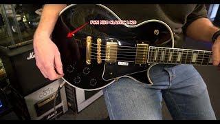 FGN NEO CLASSIC LC20 LP STYLE CUSTOM DESIGN E-GITARRE HUGHES & KETTNER BLACK SPIRIT 200 MUSIKHAUS KN