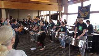 Planet Pan at the 2018 New England Steelband Festival at Sugarloaf....