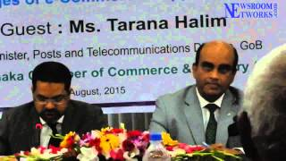 Prospects & Challenges of e-Commerce: Opportunities for SMEs : Welcome by Mr. Hossain Khaled