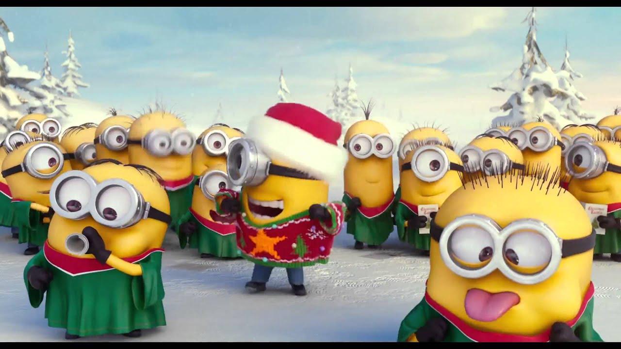 Minions Christmas Wallpaper