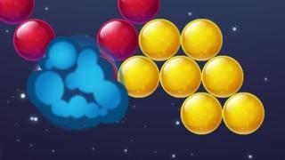 Взрывные шарики (Bubble Burst) // Геймплей