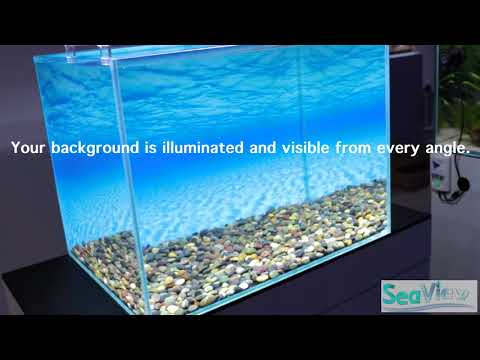 SeaView Aquarium Background Mounting Solution