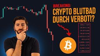 ACHTUNG: BITCOIN & Crypto Verbot für 1,4 Milliarden Menschen! Alle Infos & was ich jetzt tue!