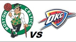 Boston Celtics vs Oklahoma City Thunder NBA Highlights (OCTOBER 26th 2018)