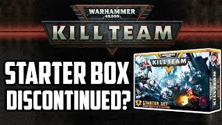 Kill Team Starter Set Discontinued? What Next?