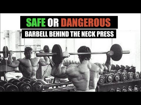 SAFE OR DANGEROUS?? - Shoulder Behind the Neck Press Exercise | Info by Guru Mann