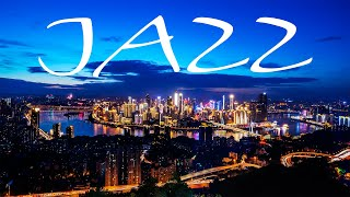 Elegant Night JAZZ Playlist - Sensual Saxophone JAZZ &  Lights of Night City - Night Traffic JAZZ