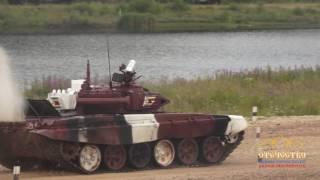 Прыжки в воду (на танках): Беларусь, Казахстан, Иран, Зимбабве. Танковый биатлон