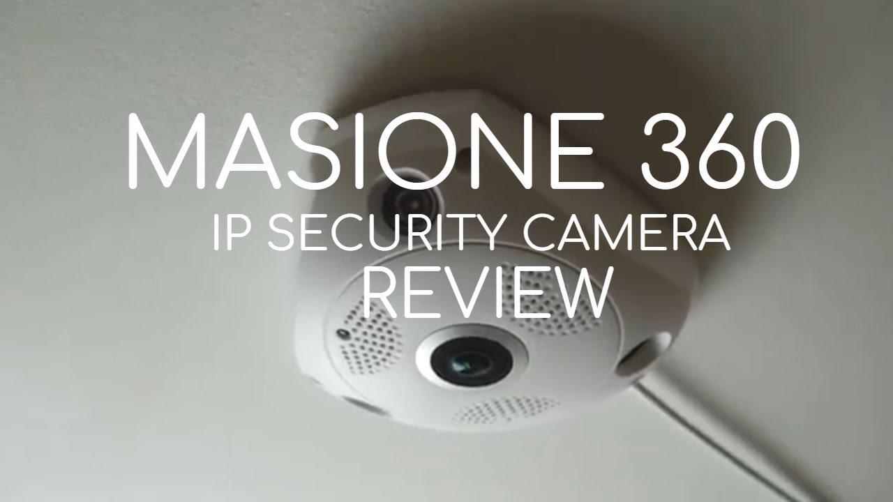 Masione 360 Panoramic IP Security Camera REVIEW