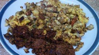 Chorizo Breakfast Scramble