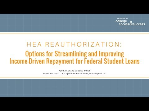 Options for Streamlining and Improving Income-Driven Repayment for Federal Student Loans