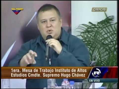 Instituto Altos Estudios Hugo Chávez: Reinaldo Iturriza, ministro de Cultura
