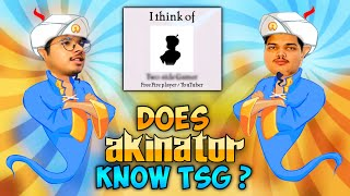Does Akinator Know Two Side Gamers ? || Mystery Revealed - TSG Trying Akinator