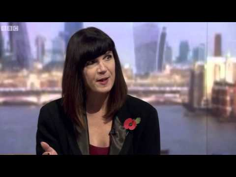25 October 2015: Catherine Mayer, Women's Equality Party president, on The Andrew Marr Show