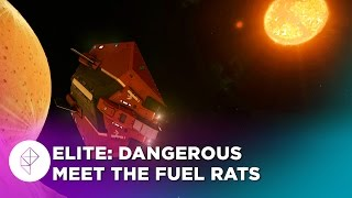 Elite: Dangerous search and rescue with the Fuel Rats