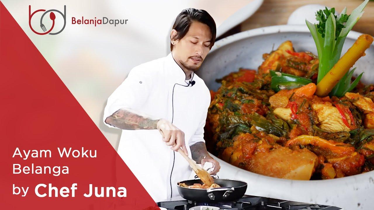Resep Beda Ayam Woku Belanga By Chef Juna Youtube