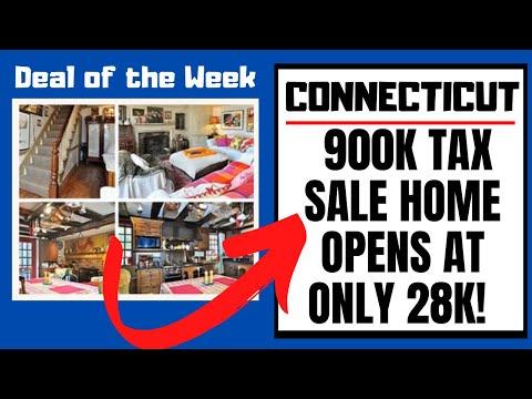 $900,000 CONNECTICUT HOME 4-SALE! TAX SALE PROPERTY REVIEW
