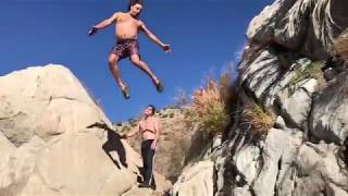 Gambar cover 2018 trip to the Deep Creek Hot Springs in Apple valley, California. Camping backpacking outdoors