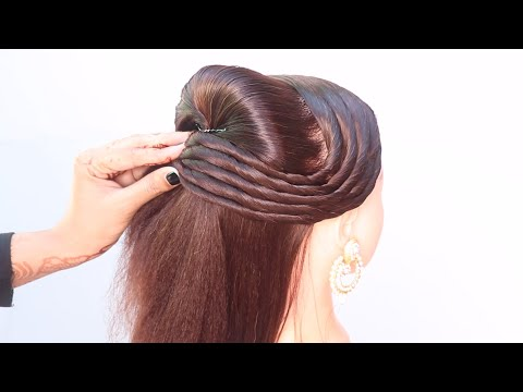 open-hairstyle-in-3-looks-|-latest-hairstyle-|-party-hairstyle-|-hairstyle-for-open-hair-|-hairstyle