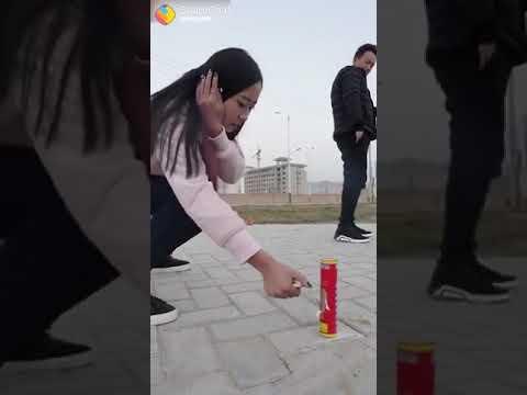 Explod 200 gramm fire cracker ,funny video 😂😂😂😂
