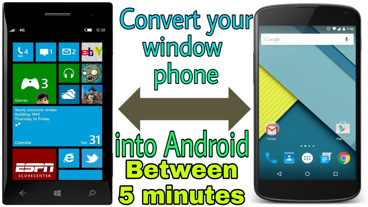 convert windows phone into android in between 5 minutes how to install android os in windows. Black Bedroom Furniture Sets. Home Design Ideas
