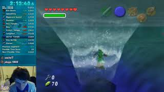 Crazy Speedrun Save in Ocarina of Time 100% (Stream Highlight)