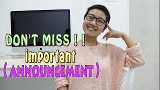 An announcement to make | Important announcement on YouTube Video| Honiya Dakpe| Travel Vlogs (q/&a)