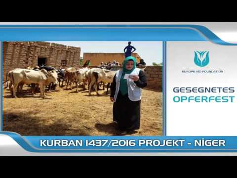 KURBAN VOLLMACHT/ NIGER 2016 DEUTSCH EUROPE AID FOUNDATION