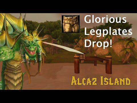 [WoW] GLORIOUS LEGPLATES DROP!! - Alcaz Island Transmog Farming