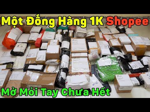 Đống Hàng 1K Trên Shopee - Giá Rẻ Mở Hộp Mỏi Tay Chưa Hết