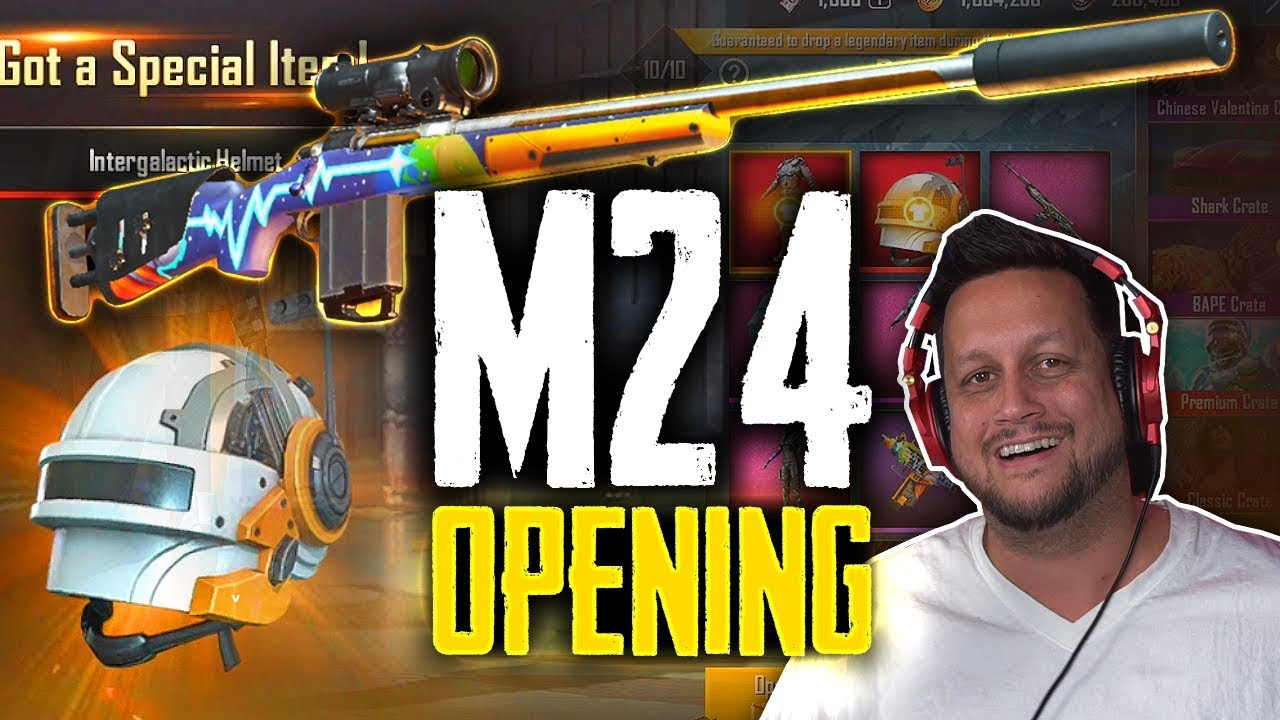 OPENING FIRST EVER M24 GUN SKIN W/ SPECIAL GUEST!