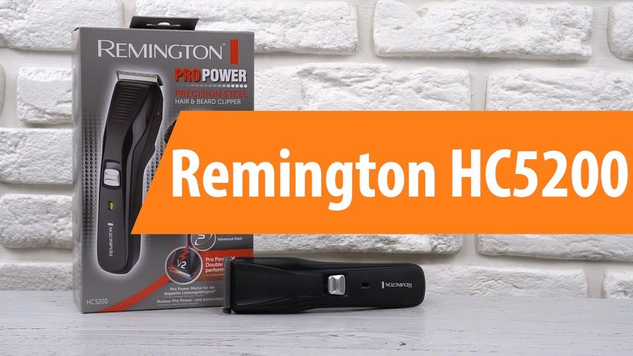 Распаковка машинки для стрижки Remington HC5200   Unboxing Remington HC5200 7c1e6b2f06