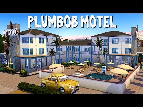 Plumbob Motel || The Sims 4: Speed Build thumbnail