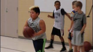 Basketball Practice | Ace Tiger 3rd Grade | TigerFamilyLife~