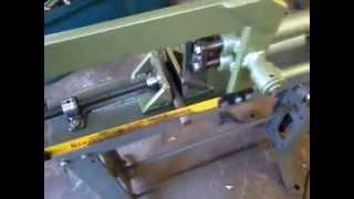Serra mecanica caseira
