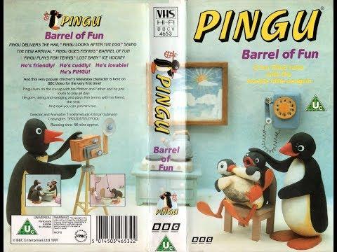 Pingu - Barrel of Fun [VHS] (1991)