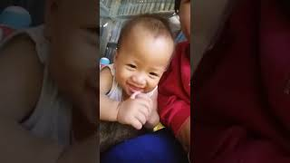 Baby asean is lovely kid fun funny baby boy