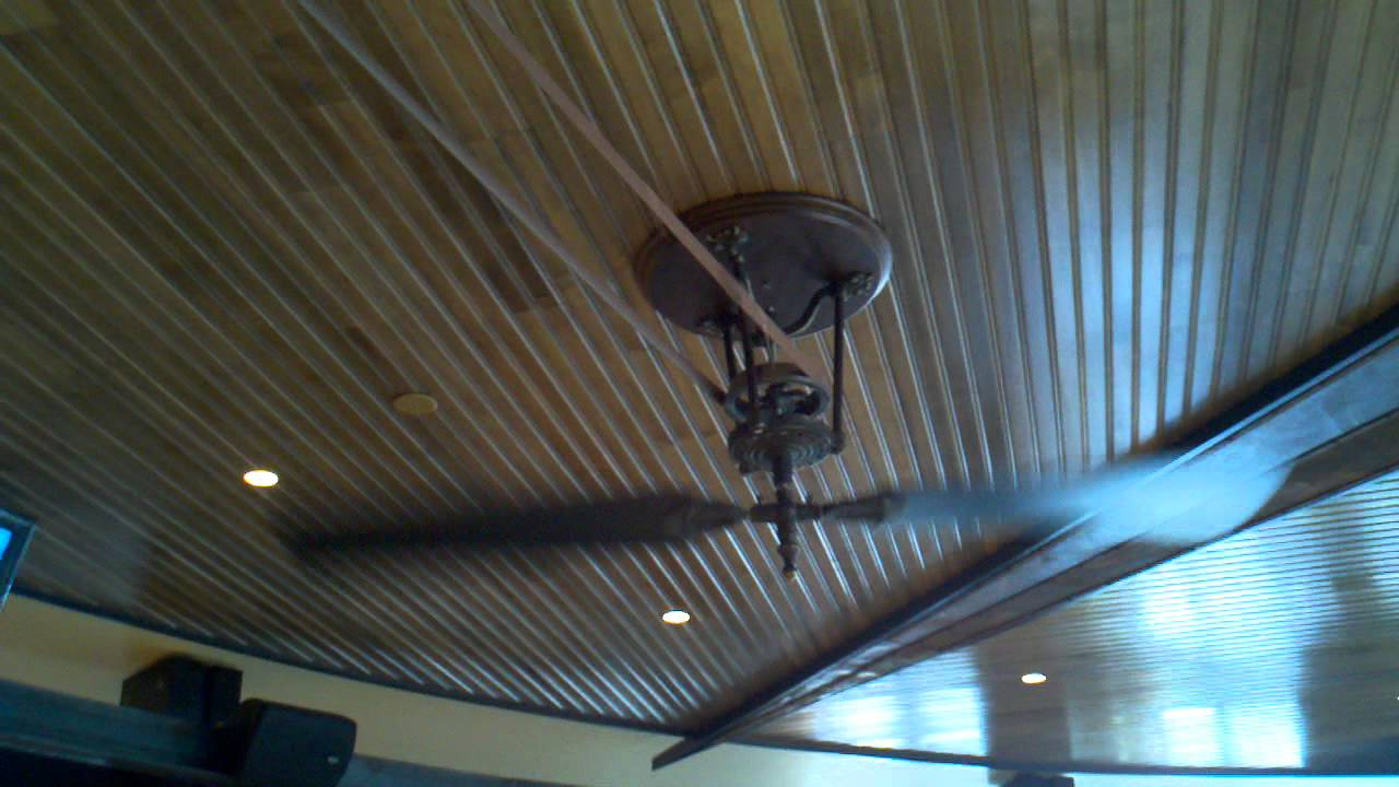 Chain Driven Ceiling Fan | WANTED Imagery