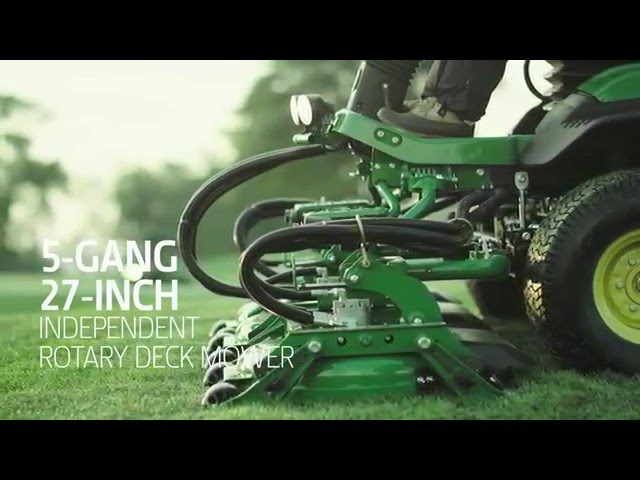The John Deere 9009A TerrainCut Rough Mower