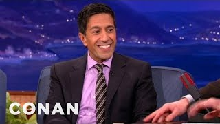 Dr. Sanjay Gupta Interview Pt. 1  01/30/13 - CONAN on TBS