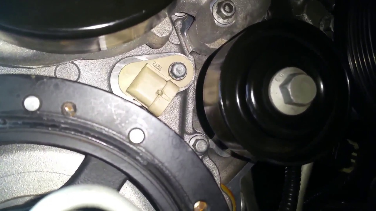 Install New Cam Position Sensor in LS Motor, Boosted C6 Build, Part 37
