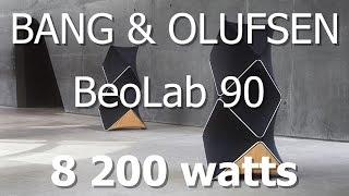 BeoLab 90 Знакомство и первый обзор.