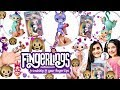 default - Fingerlings - Interactive Baby Monkey - Zoe (Turquoise with Purple Hair)