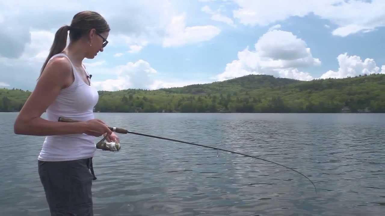 Bass fish nh wildside youtube for Bass fishing nh