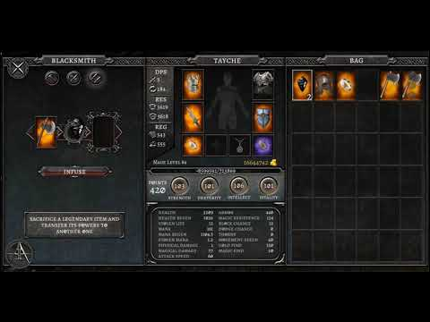 AnimA ARPG 2020 - Infuse TUTORIAL - Requires The Same Tier